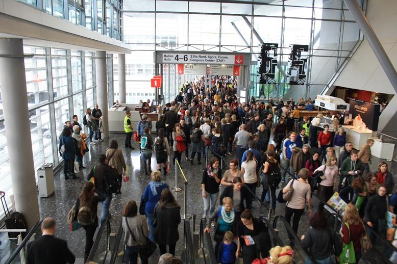 Doch ordentlich was los auf der Frankfurter Buchmesse 2015