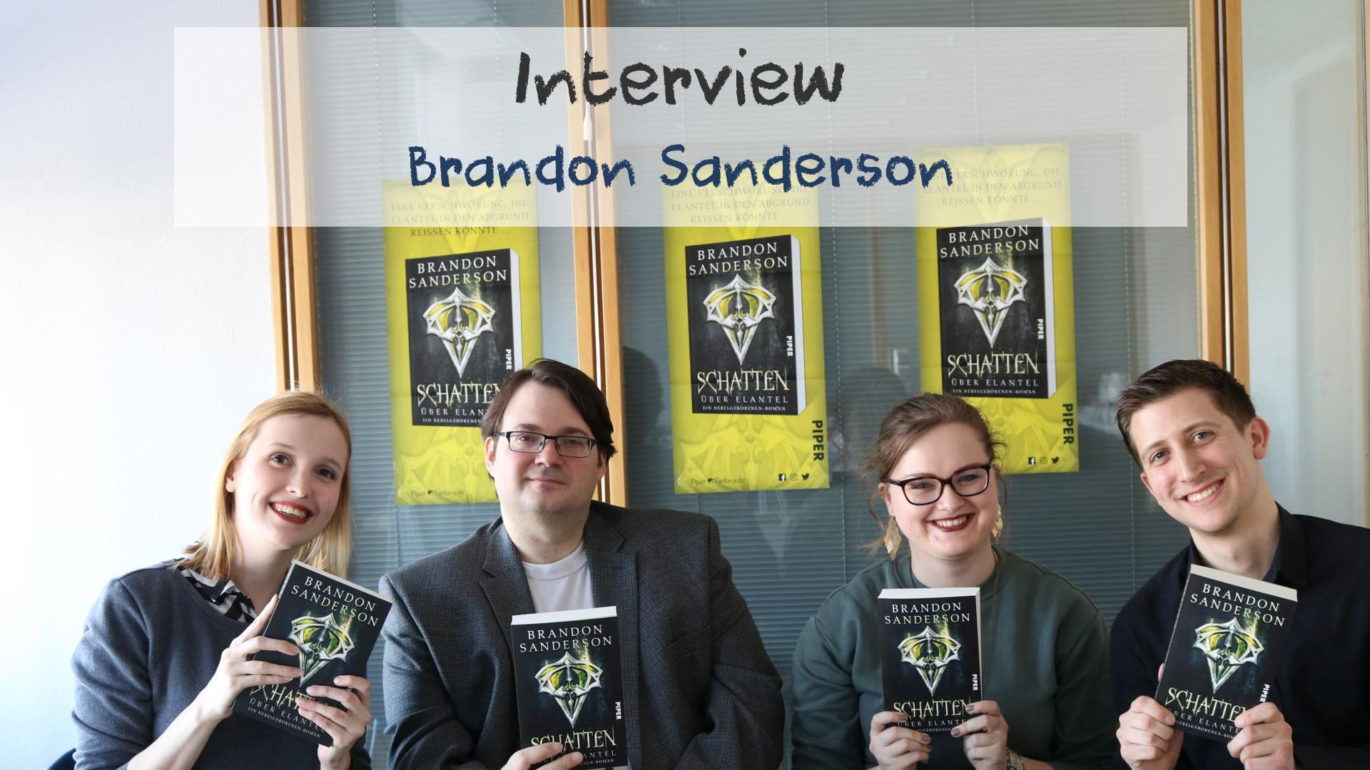 Interview // Brandon Sanderson auf der Leipziger Buchmesse 2017