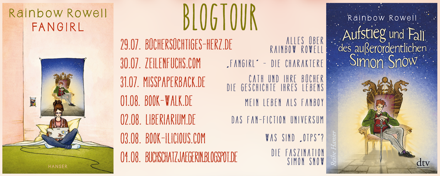 Blogtour zu Fangirl & Simon Snow