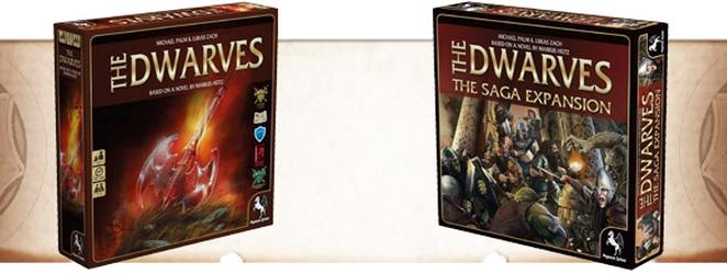 The Dwarves Boardgame - (c) Pegasus Spiele