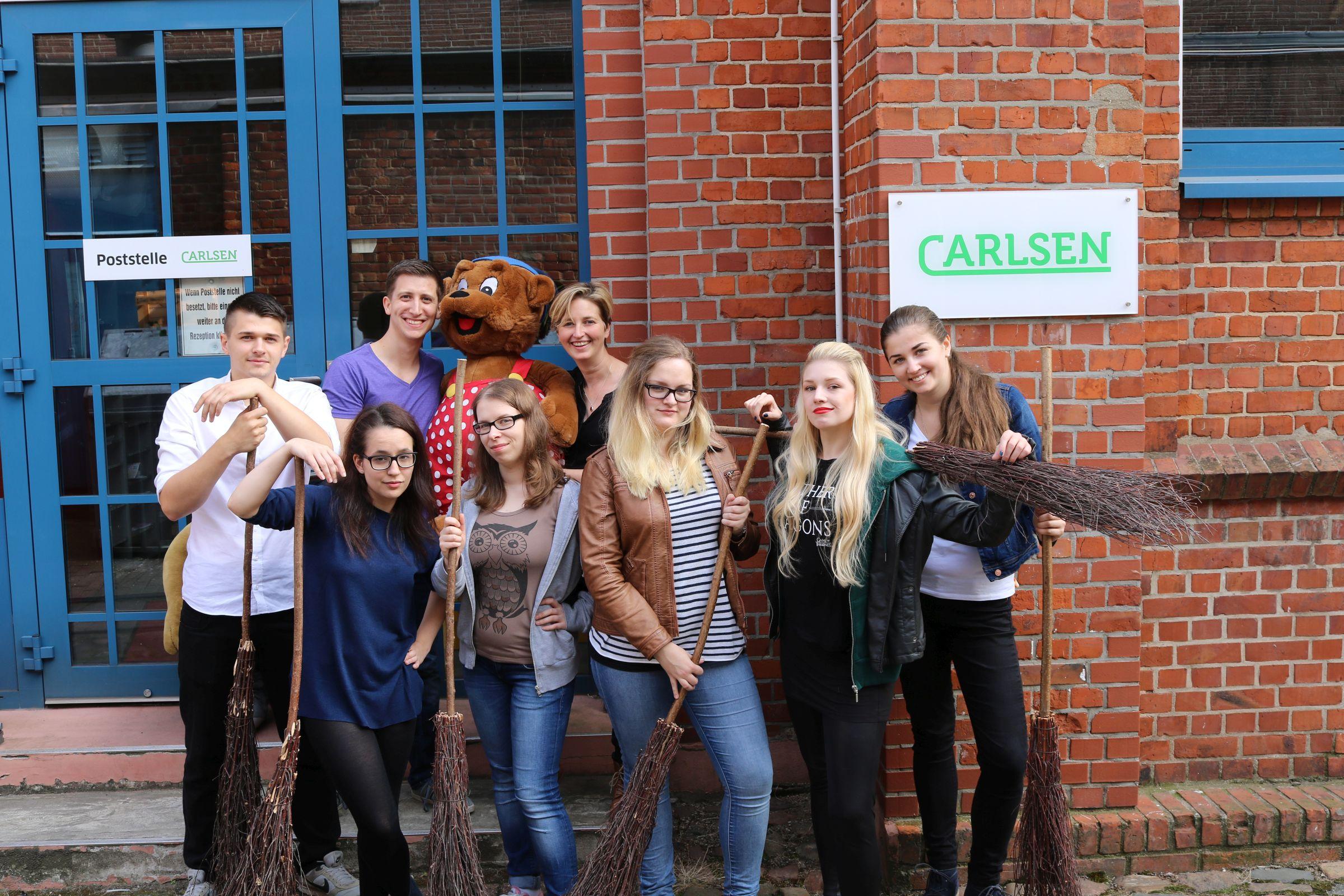 #Potternacht, Hamburg und Besichtigung des Carlsen Verlags