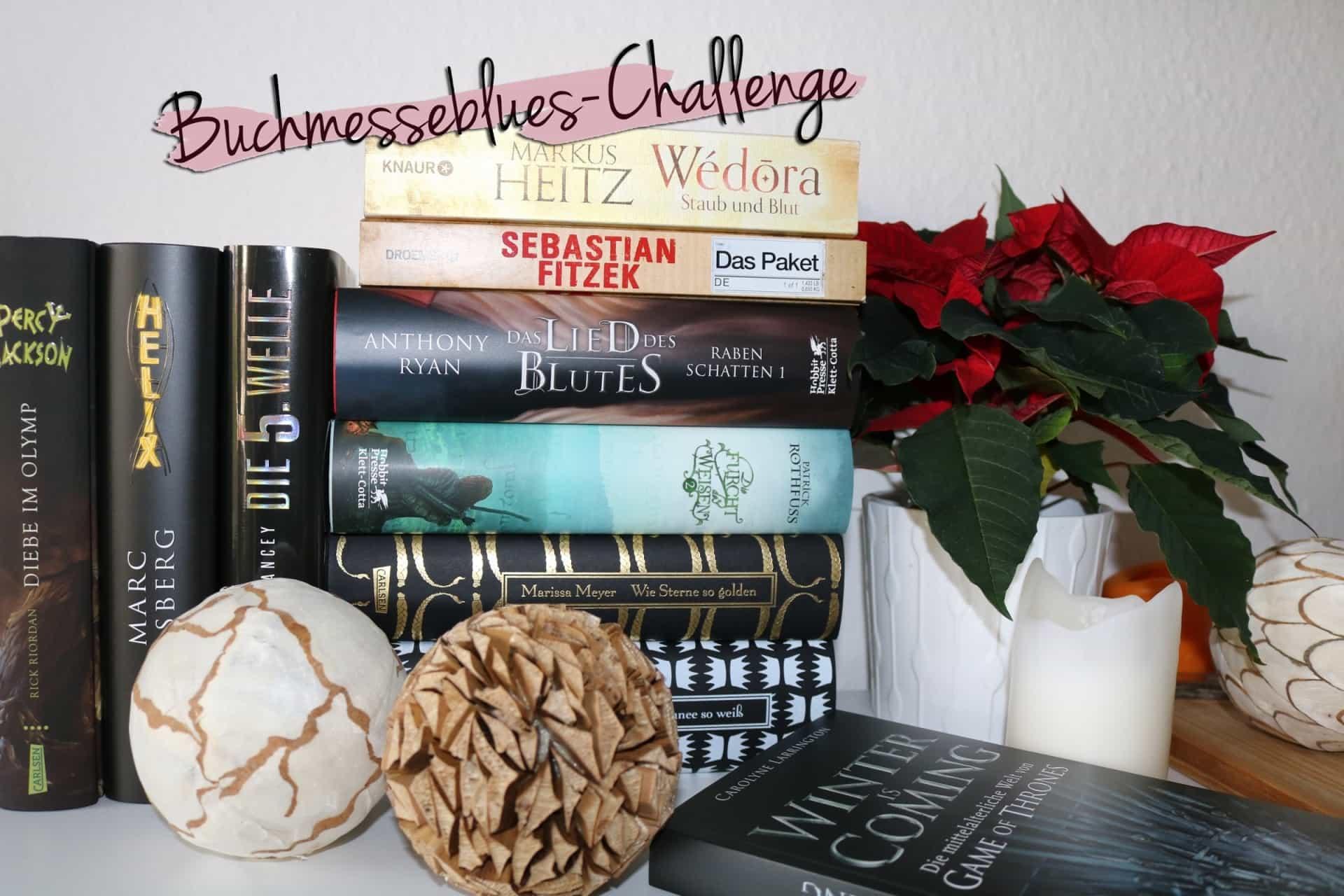 Meine Bücher für die Buchmesseblues-Challenge