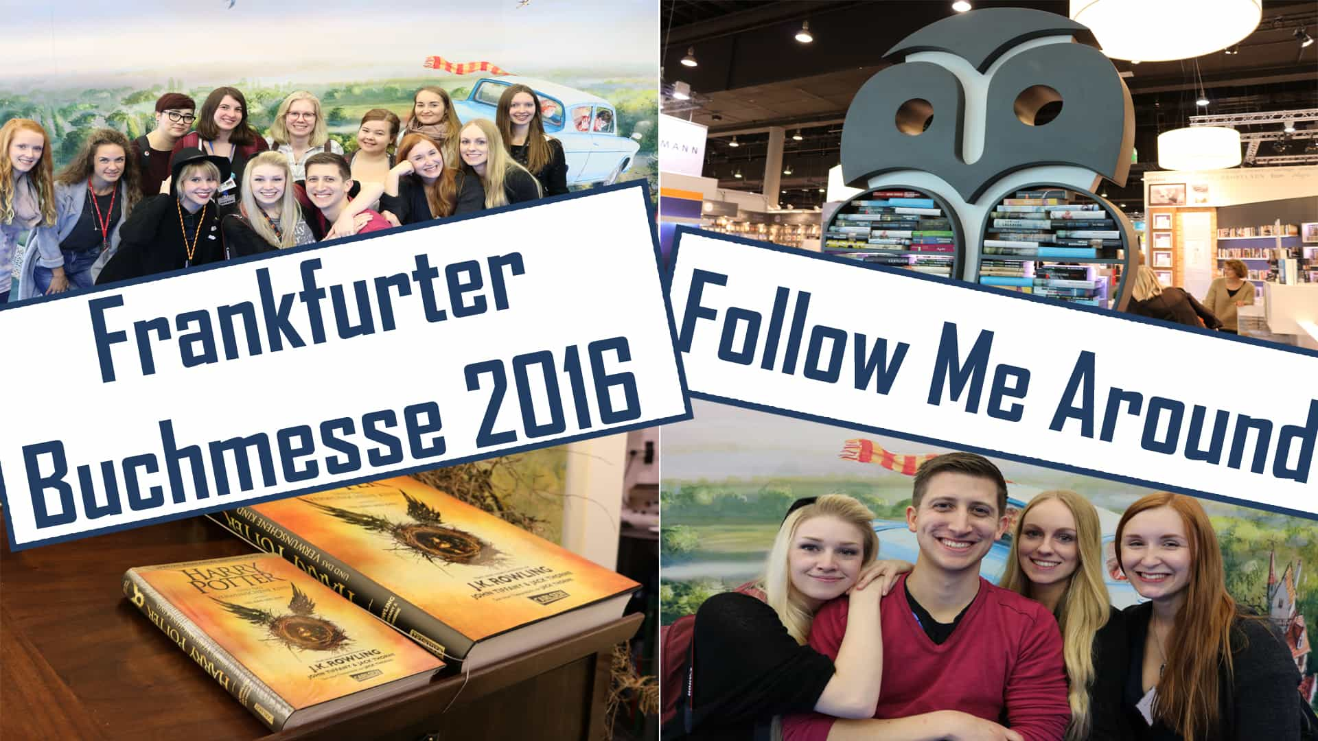 Frankfurter Buchmesse 2016 // Follow Me Around