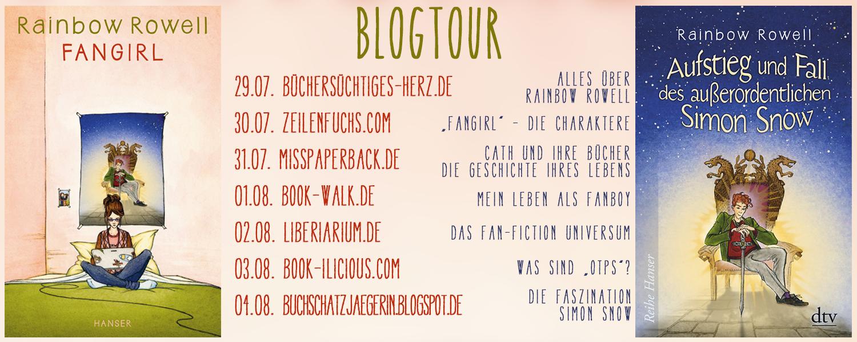 Blogtour zu Fangirl & Simon Snow