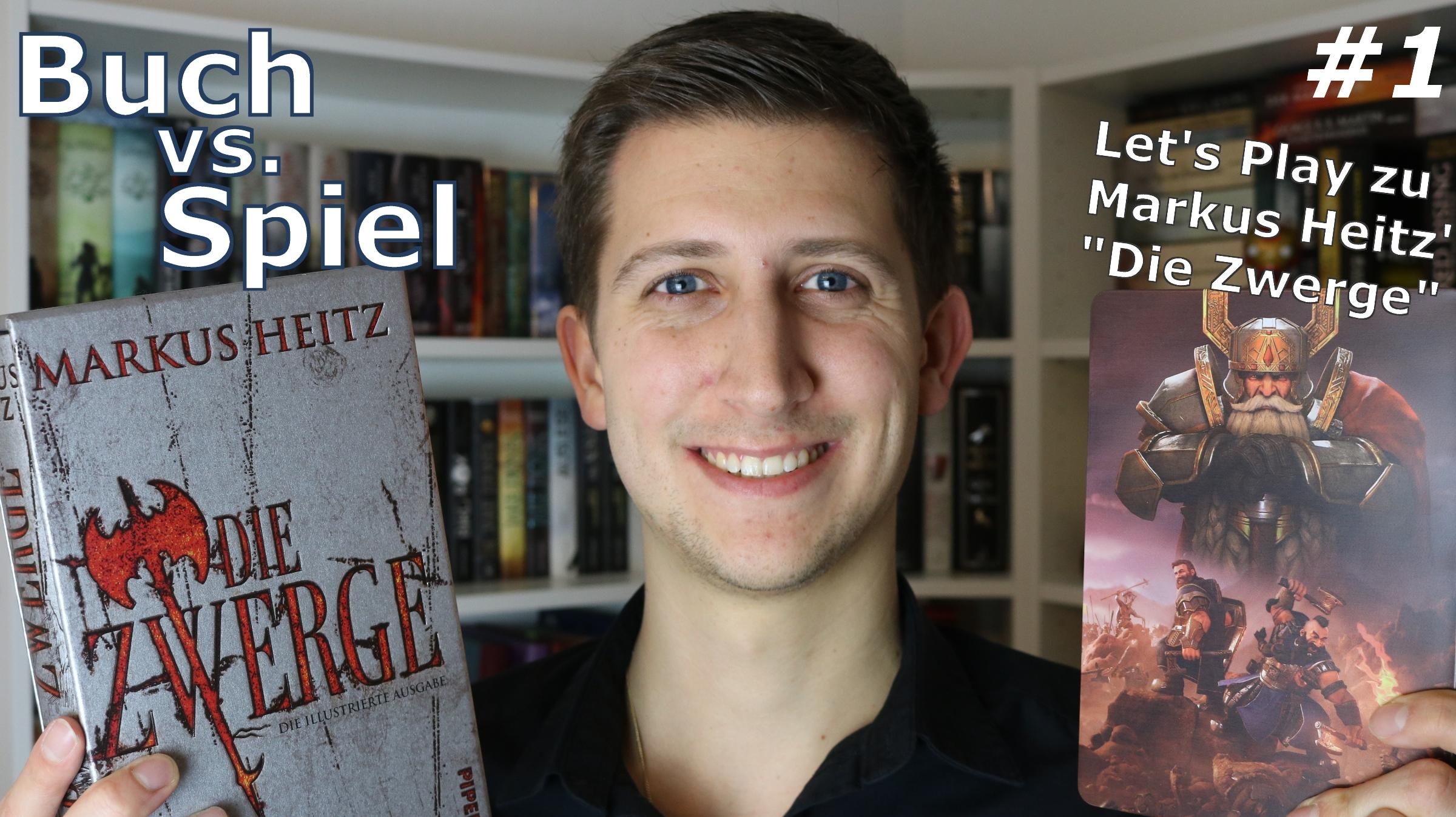 Buch vs. Spiel // DIE ZWERGE von Markus Heitz - Let's Play #1