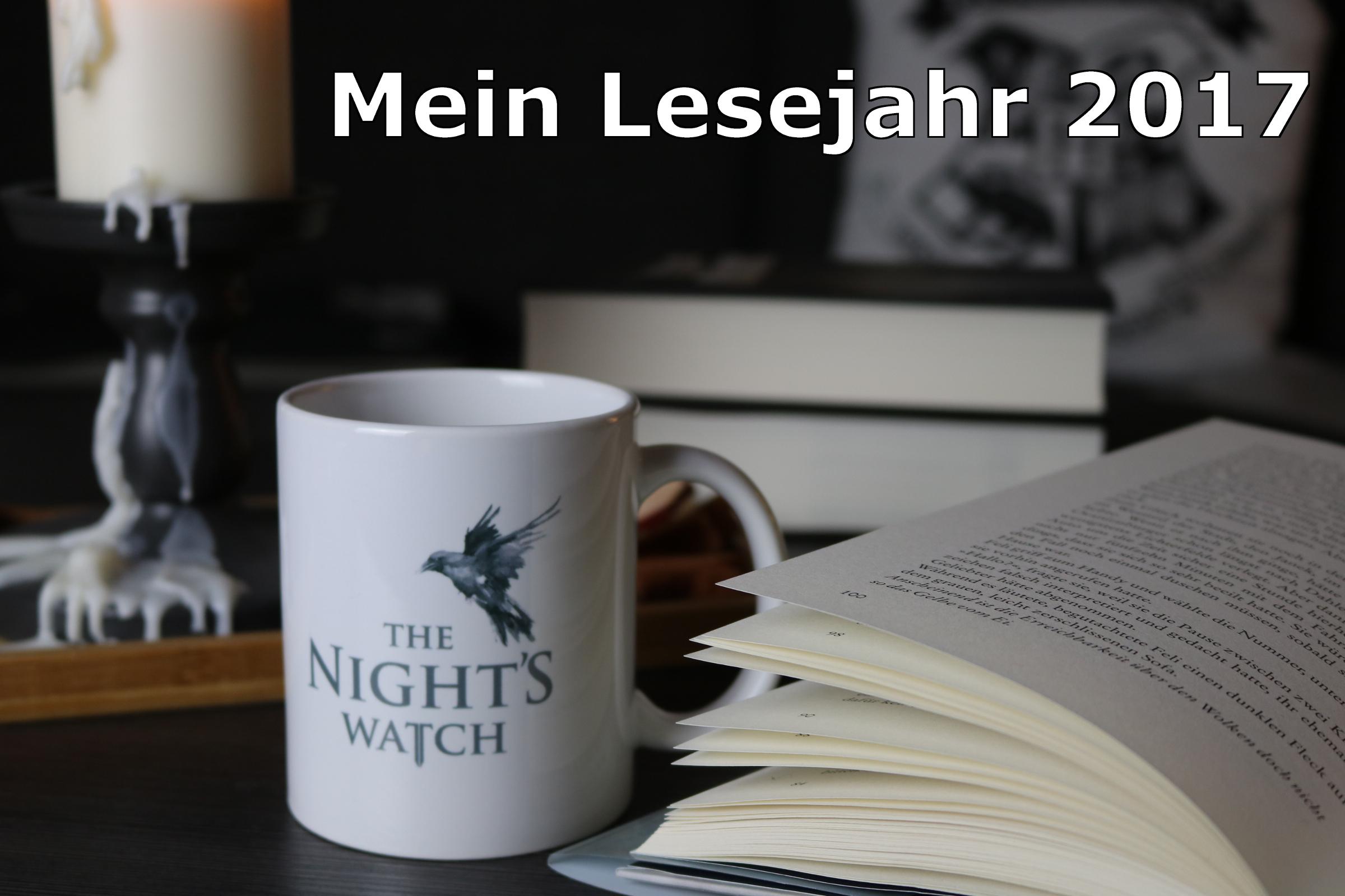 Mein Lesejahr 2017 & die 9. Ausgabe der Buchsaiten Blogparade